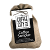Coffee City USA burlap sampler - 3 ct