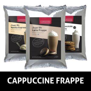Cappuccine Frappe Mixes