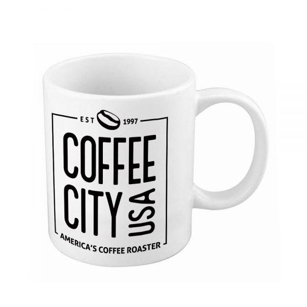 Coffee City USA Logo Mug (White)