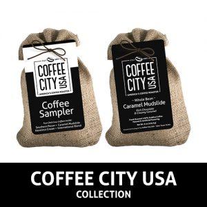 Coffee City USA Burlap Samplers