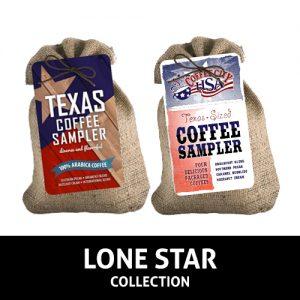 Lone Star Burlap Samplers