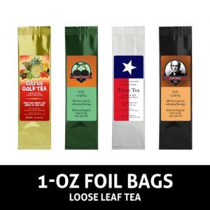 1 oz Foil Bags tea
