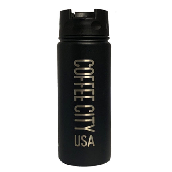 CCUSA Thermal Bottle 20 oz - BLACK