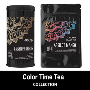 Color Time Tea Packaging